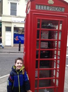 "#2 and a ""proper"" British phone booth"